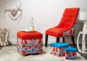 Colorful Upholstery from Sandy Wilson