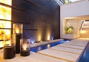 By the Hearth: Stylish Firepits from Ecosmart