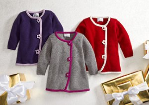 Bundle Up Baby:  Outerwear Styles