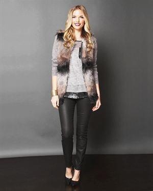 Lumiere Faux Fur Vest $45