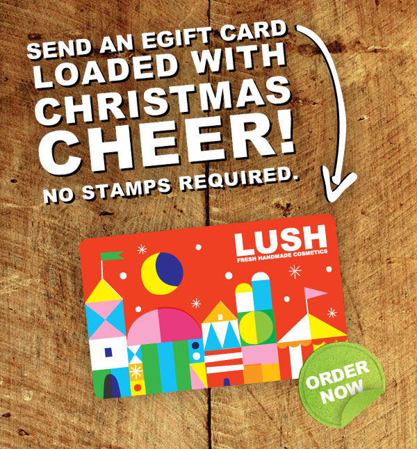 Missed the postman? Send an eGift Card loaded with Christmas cheer! No stamps required.