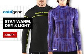 UA COLDGEAR® - STAY WARM, DRY & LIGHT. SHOP.