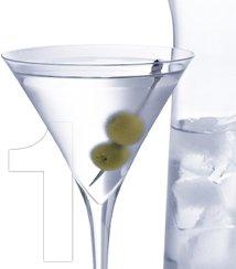 1 Felix Martini Glass $9.95
