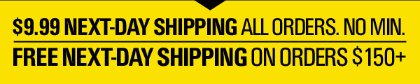 NEXT-DAY FREE SHIPPING.