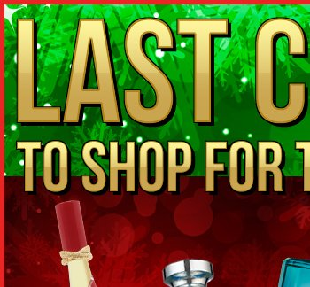 Last Chance To Shop In Stores For The Holiday