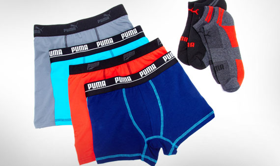 PUMA Socks & Underwear- Visit Event
