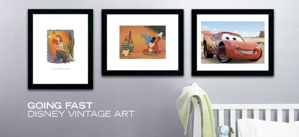 GOING FAST: DISNEY VINTAGE ART, Event Ends December 27, 9:00 AM PT >