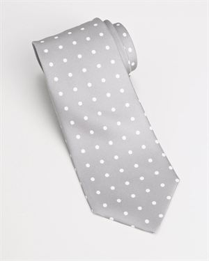 Valentino Cravatta Pois Tie - Made In Italy