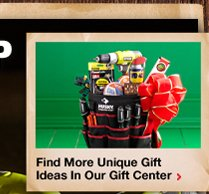 Find more unique gift ideas in our Gift Center
