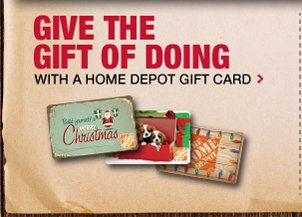 Shop Home Depot Gift Cards