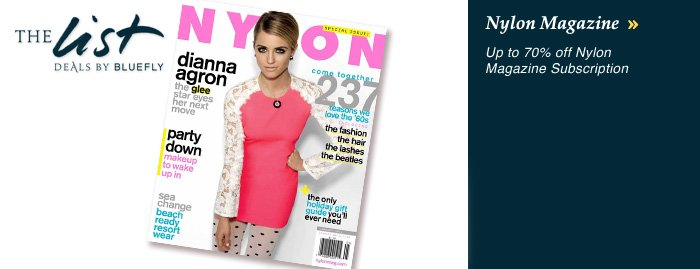 Nylon Magazine Offer