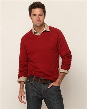 Pedro del Hierro Cashmere Blend V-NeckSweater $22