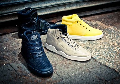 Shop AH By Android Homme: New Hi-Tops