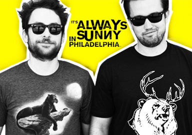 Shop Always Sunny Ts: In Time for Finale