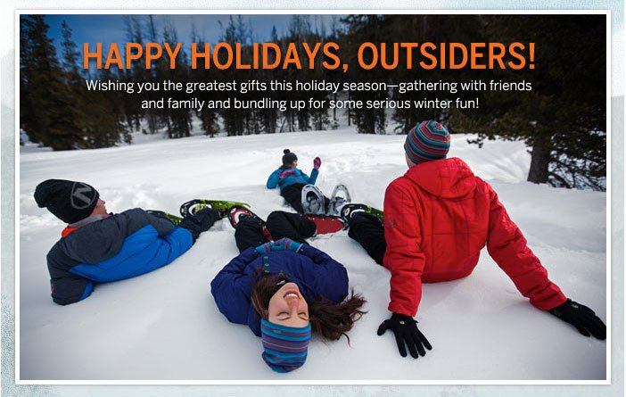 Happy Holidays, Outsiders