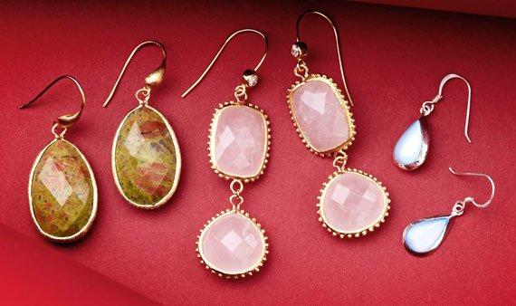 Best of: Gemstone Earrings  - Visit Event