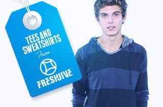 Tees and Sweatshirts From Freshjive