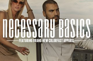 Necessary Basics Featuring Brand New Colorfast App