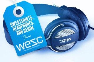 Sweatshirts, Headphones, and Denim From Wesc