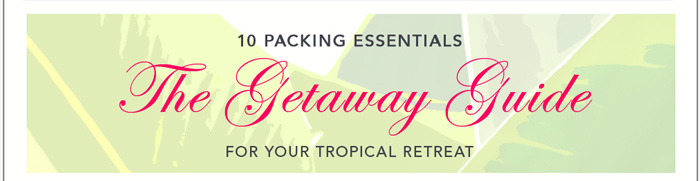 The Getaway Guide