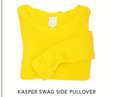 Kasper Swag Side Pullover