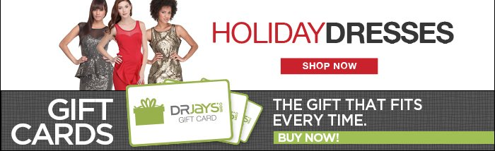 DrJays.com Take 50% Off Holiday Shop With Promo Code.