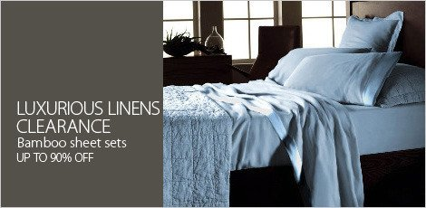 Luxurious Linens Clearance