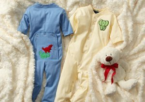 Bundle Up:  Cozy Long Johns for Baby