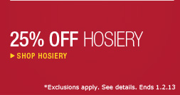 Shop Hosiery