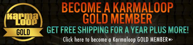 Get Free Shipping For All Of 2013! Become A Karmaloop Gold Member Today!