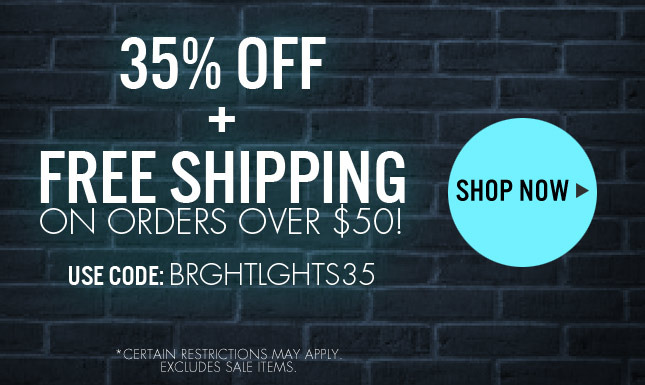 35% Off + Free Shipping!