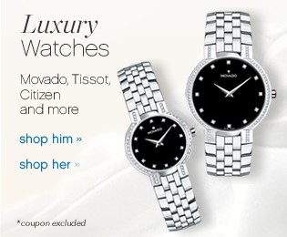 Luxury Watches. Movado, Tissot, Citizen and more.
