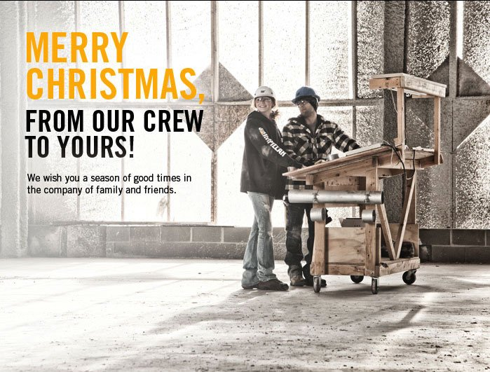 Merry Christmas, From Our Crew to Yours