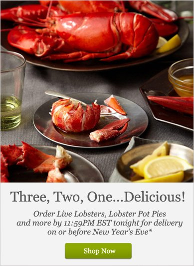 Three, Two, One...Delicious! - Shop Now