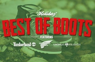 Best of Boots Featuring Redwing, Timberland, and A