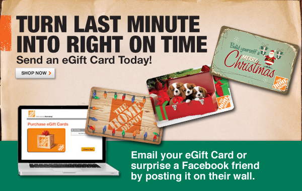 Send an eGift Card Today