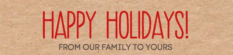 happy holidays from stila