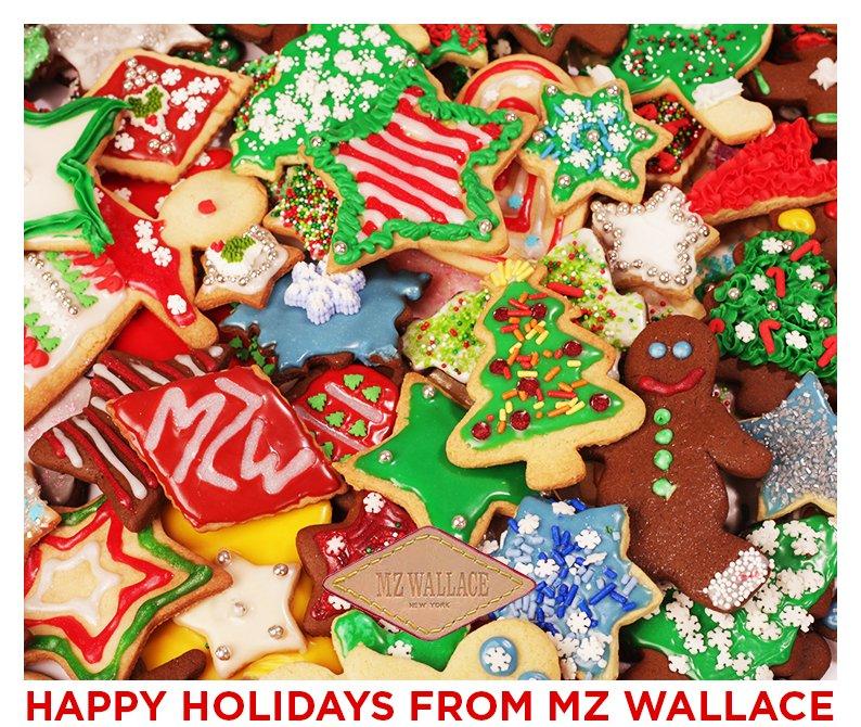 Happy Holidays from MZ Wallace.