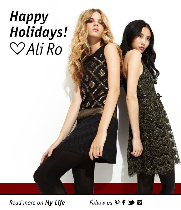 Happy Holidays, from Ali Ro