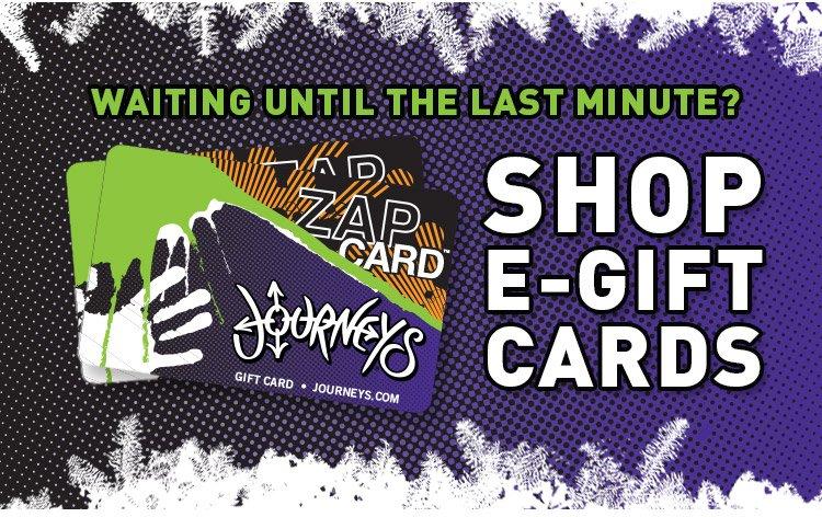 Last Minute Shopper? Shop our eGift Cards!