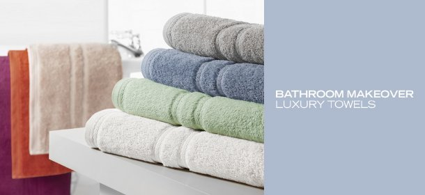 BATHROOM MAKEOVER: LUXURY TOWELS, Event Ends December 27, 9:00 AM PT >