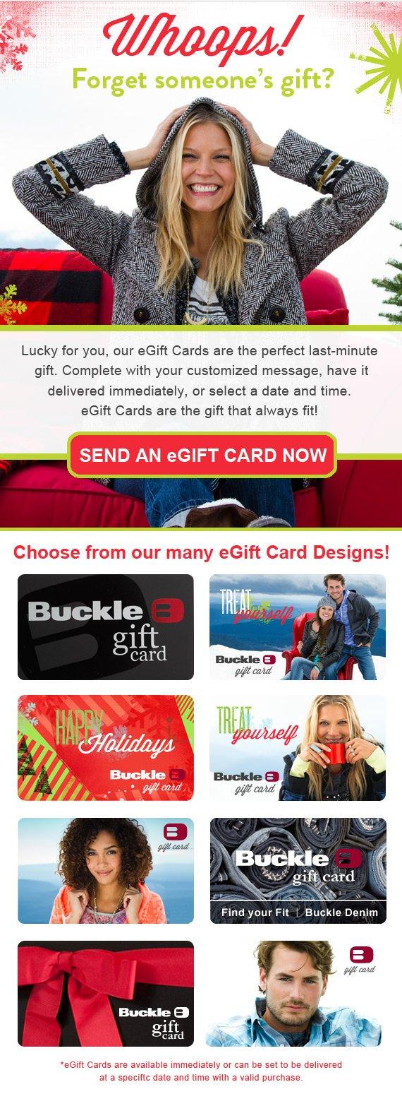 Buy an eGift Card now!