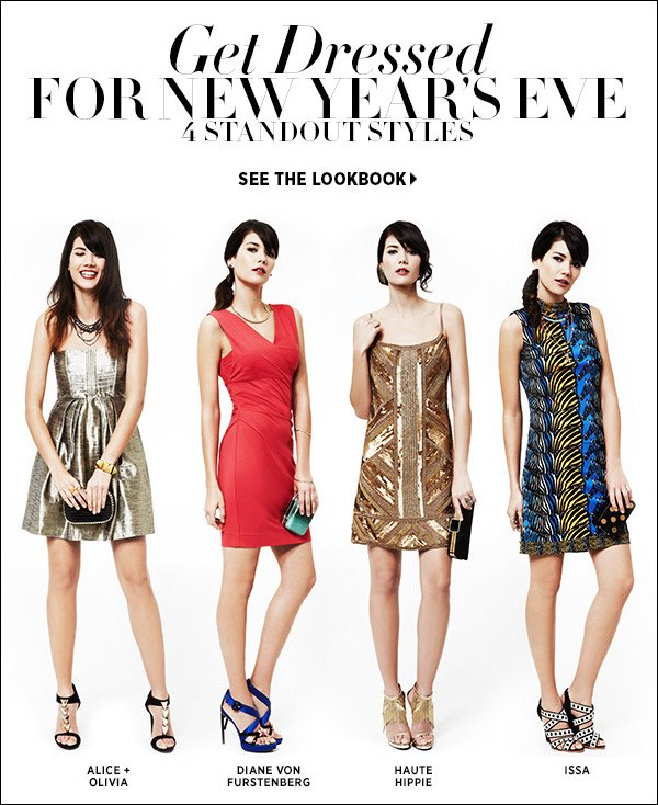 Do you know what you're wearing for New Year's Eve? Shop our latest lookbook for inspired NYE options and enjoy FREE delivery when you order by December 24. (See site for details. Restrictions apply.). Shop NYE dresses >>