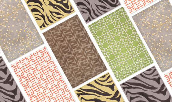 Surya Rugs, Poufs & Pillows- Visit Event