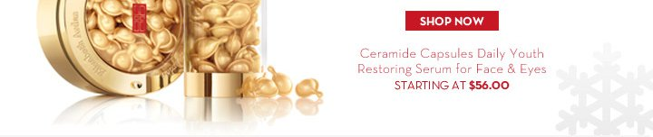 SHOP NOW. Ceramide Capsules Daily Youth Restoring Serum for Face & Eyes. STARTING AT $56.00.