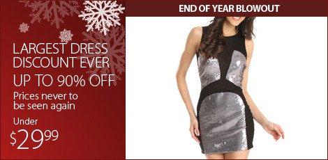 Largest Dress Discount Ever. (Below 29.99)
