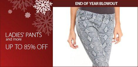 Ladies' Pants and More
