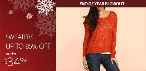 Sweaters Under $34.99