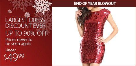 Largest Dress Discount Ever. (Below 49.99)