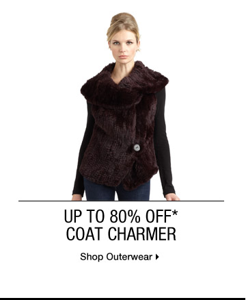 Up To 80% Off* Coat Charmer